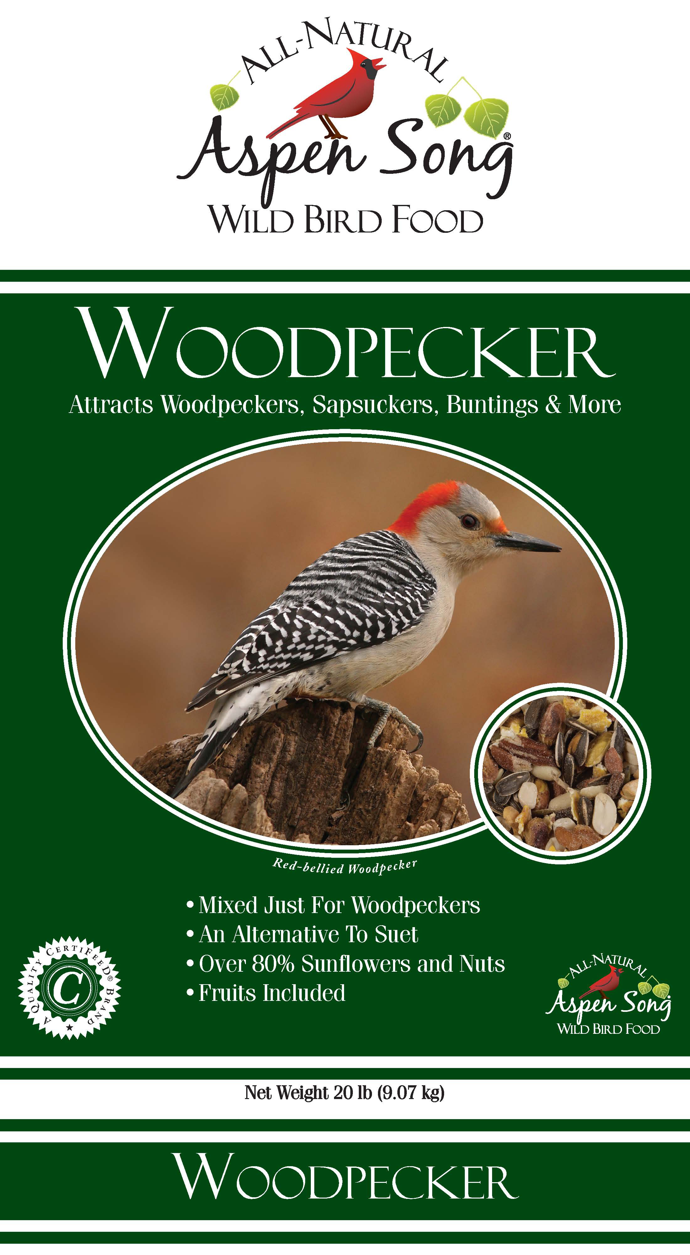 Aspen Song Woodpecker Blend