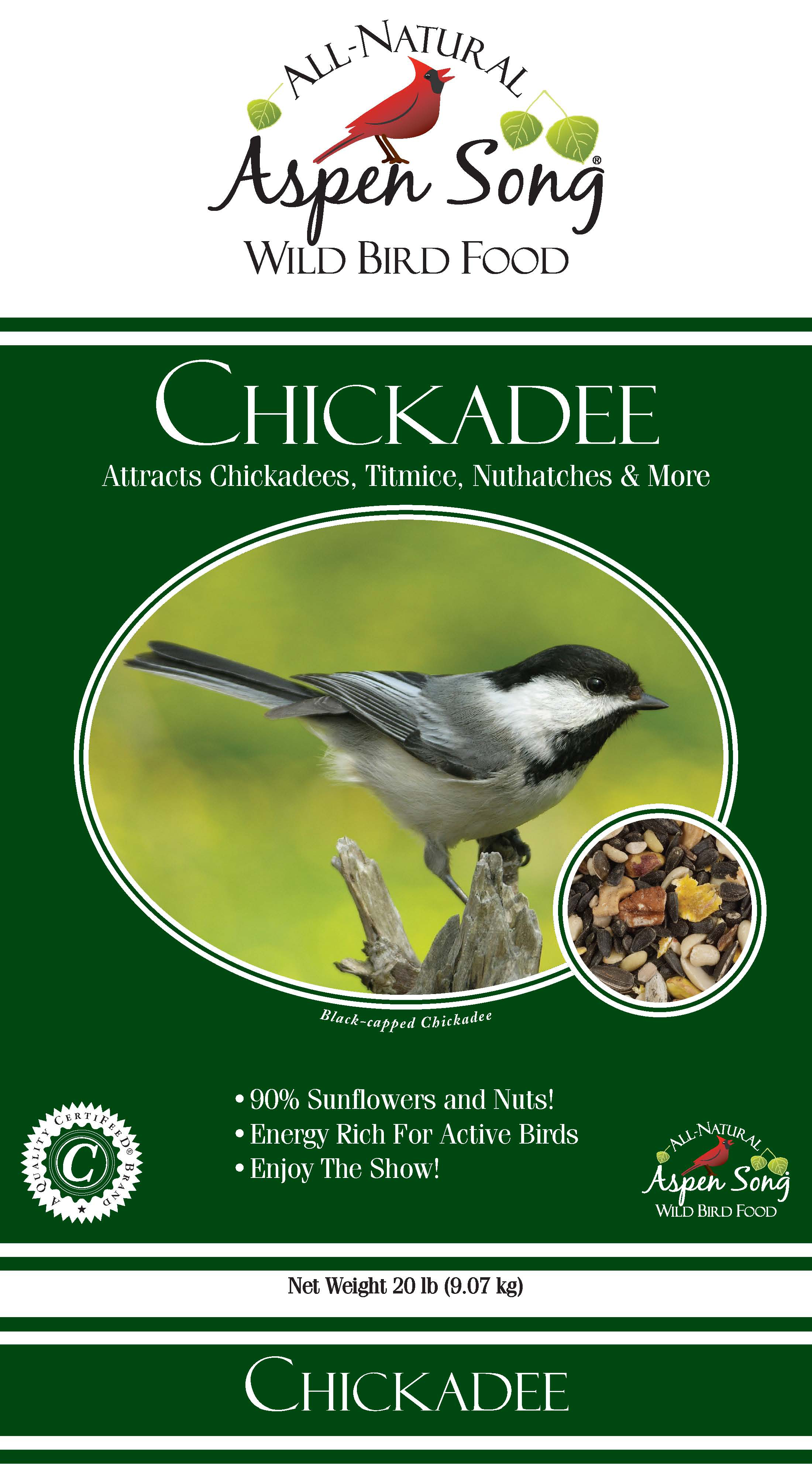 Aspen Song Chickadee