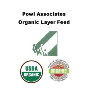 Certified Organic Poultry Feeds