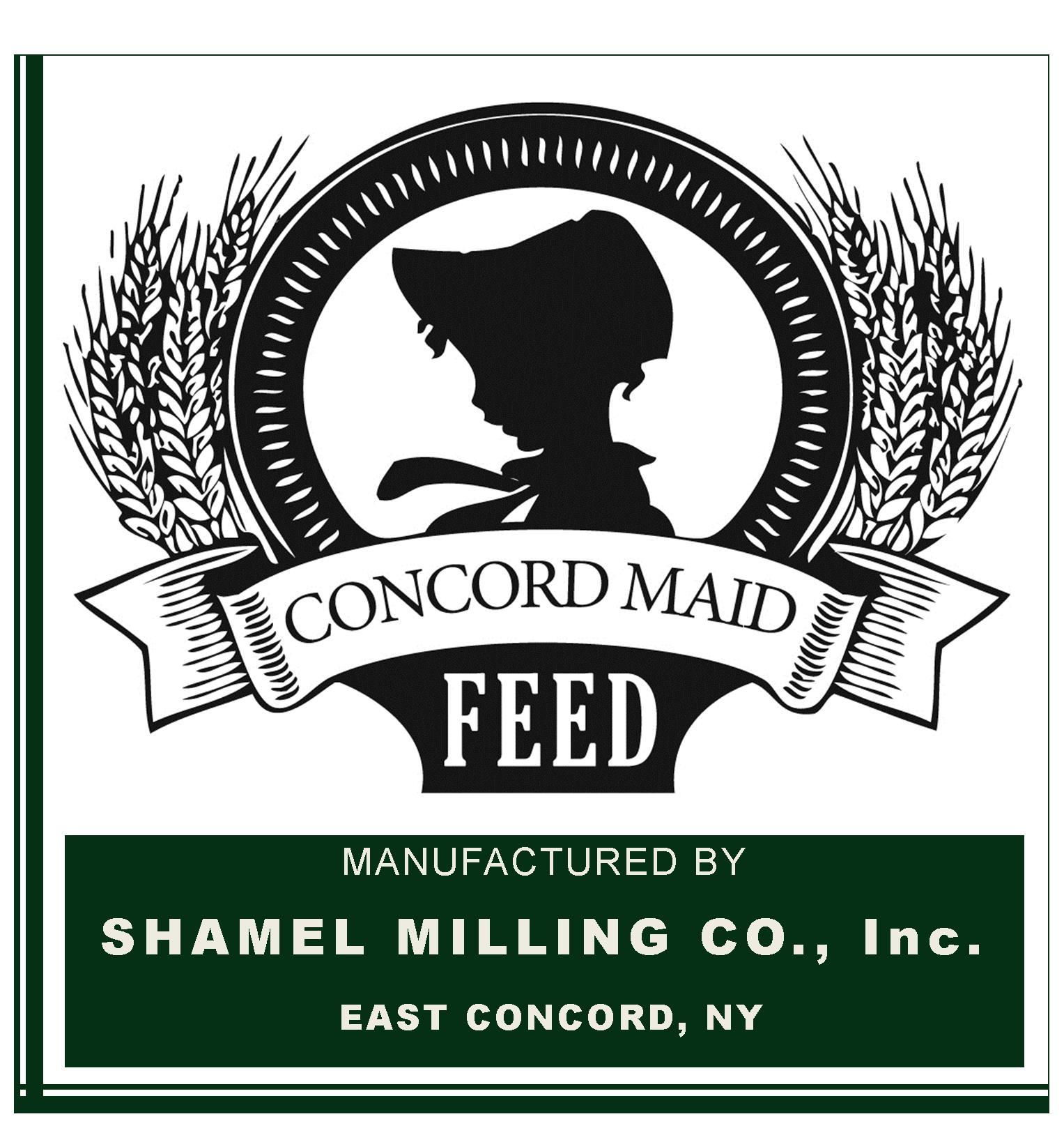 Concord Maid 24% Calf Starter Grain - Shamel Milling